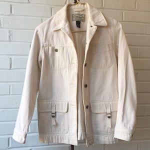 Vintage Ralph Lauren Jeans Co Tan Canvas Jacket PP